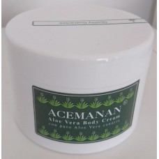 Acemanan - Aloe Vera Body Cream Körpercreme 200ml hergestellt auf Gran Canaria - LAGERWARE