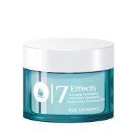 Aloe Excellence - 7 Effects Cream Antiaging Moisturing Antifalten-Feuchtigkeitscreme 50ml Dose hergestellt auf Gran Canaria