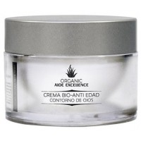 Aloe Excellence - Aloe Vera Crema Bio-Anti Edad Contorno de Ojos 100% Ecologico 30ml Dose hergestellt auf Gran Canaria