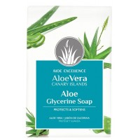 Aloe Excellence - Aloe Vera Glycerine Soap Handseife 100g hergestellt auf Gran Canaria
