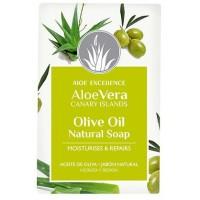 Aloe Excellence - Aloe Vera Glycerine Soap with Olive Oil Handseife 100g hergestellt auf Gran Canaria