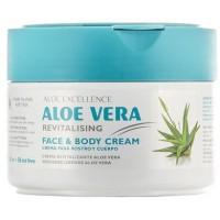 Aloe Excellence - Aloe Vera Revitalizing Creme 300ml Dose hergestellt auf Gran Canaria