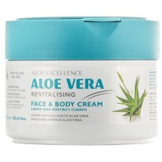 Aloe Excellence - Aloe Vera Revitalizing Creme 300ml Dose hergestellt auf Gran Canaria - LAGERWARE
