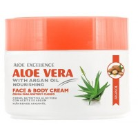 Aloe Excellence - Aloe Vera with Argan Oil Nourishing 300ml Dose hergestellt auf Gran Canaria