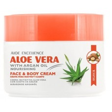 Aloe Excellence - Aloe Vera with Argan Oil Nourishing 300ml Dose hergestellt auf Gran Canaria - LAGERWARE