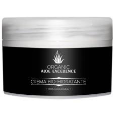 Aloe Excellence - Aloe Vera Crema Bio-Hidratante 100% Ecologico Bio 200ml Dose hergestellt auf Gran Canaria