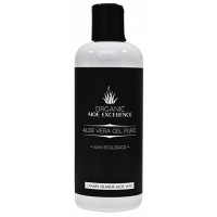 Aloe Excellence - Aloe Vera Gel 100% Natural Puro Organic Eco Bio 250ml Flasche hergestellt auf Gran Canaria - LAGERWARE