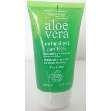 Cactus Care - Aloe Vera Natural Gel pure 100% 100ml Standtube hergestellt auf Gran Canaria