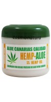 Aloe Canarias Calidad - Hemp-Aloe Hanf-Aloe Vera Körpercreme 300ml Dose hergestellt auf Teneriffa