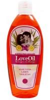 Cosmonatura - Aceite Love LoveOil Aloe Vera, Limon, Violetas 250ml hergestellt auf Teneriffa
