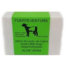 Jabon Fuerteventura - Jabon de Leche de Cabra y Aloe Vera Ziegenmilchseife 110g hergestellt auf Fuerteventura - LAGERWARE
