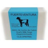 Jabon Fuerteventura - Jabon de Leche de Cabra y Oliva y Patchouli Cleopatra Ziegenmilchseife 110g hergestellt auf Fuerteventura