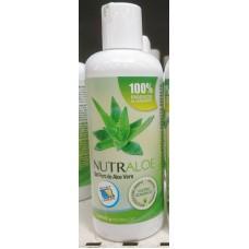 Nutraloe - Gel Puro de Aloe Vera 100% Eco Bio 250ml Flasche hergestellt auf Lanzarote - LAGERWARE