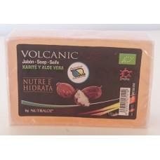 Nutraloe - Volcanic Jabon Karite y Aloe Vera Seife 100g hergestellt auf Lanzarote - LAGERWARE