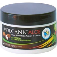 Nutraloe - Volcanicaloe Crema Hidratante con Aloe Vera Eco Bio Feuchtigkeitscreme 250ml Dose hergestellt auf Lanzarote - LAGERWARE