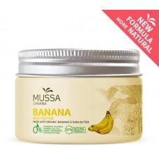 Mussa Canaria - Manteca Crema Body Butter Banana Cacao Karité Ecologico Bio Creme 300ml Dose hergestellt auf Teneriffa