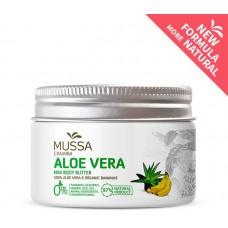 Mussa Canaria - Manteca Crema Mini Body Butter Aloe Vera Platano Ecologico Bio Creme 70ml Dose hergestellt auf Teneriffa - LAGERWARE