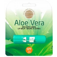 Sublime Canarias - Aloe Vera Lip Care SPF 20 Lippenpflegestift Lichtschutzfaktor 20 hergestellt auf Gran Canaria