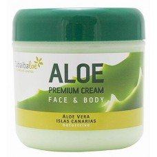 Tabaibaloe - Aloe Premium Cream Face & Body Aloe Vera 300ml hergestellt auf Teneriffa - LAGERWARE