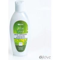 eJove - Aloe Vera Leche Limpiadora Reinigungsmilch 200ml hergestellt auf Gran Canaria