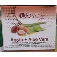 eJove - Argan + Aloe Vera Crema Rostro y Escote 100ml hergestellt auf Gran Canaria