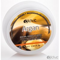 eJove - Argan Crema Rostro, Manos y Cuerpo con Aloe Vera Creme für Hände und Körper 50ml Dose hergestellt auf Gran Canaria