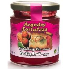 Argodey Fortaleza - Mermelada de Higo Pico-Manzana Kaktus-Apfel 240g hergestellt auf Teneriffa