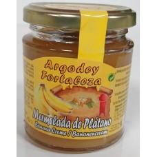 Argodey Fortaleza - Mermelada de Platano Bananen-Marmelade 250g hergestellt auf Teneriffa