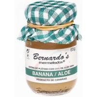 Bernardo's Mermeladas - Banana / Aloe Vera Bananenkonfitüre mit 20% Aloe Vera 65g hergestellt auf Lanzarote