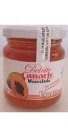 Deleite Canario Mermelada - Papaya Marmelade 212g Glas hergestellt auf Gran Canaria - LAGERWARE