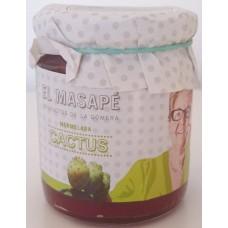 El Masapè - Mermelada de Cactus 66% Fruta Marmelade aus grünen Kaktusfeigen 290g hergestellt auf La Gomera - LAGERWARE
