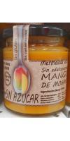 Isla Bonita - Mango de Mogan Mermelada Sin Azucar Marmelade ohne Zuckerzusatz oder Süßstoffe 260g hergestellt auf Gran Canaria