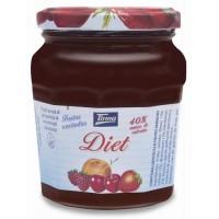 Tirma - Confitura Frutas Variadas Diet Mehrfrucht-Marmelade Diät 240g hergestellt auf Gran Canaria