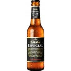 Dorada - Especial Original Extra Cerveza Bier 5,7% Vol. 6x 250ml Glasflasche hergestellt auf Teneriffa - LAGERWARE