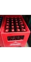 Dorada - Pilsen Cerveza Bier 4,7% Vol. 24x 330ml Glasflaschen Mehrweg in Pfandkiste hergestellt auf Teneriffa