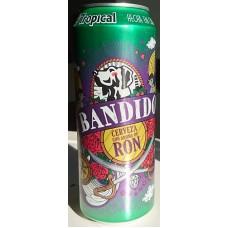 Tropical - Bandido Cerveza & Ron Bier & Rum 5,9% Vol. 500ml Dose hergestellt auf Gran Canaria - LAGERWARE
