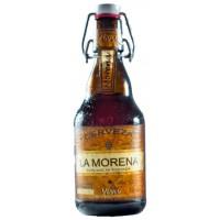 Viva - La Morena Cerveza kanarisches Bier 5,5% Vol. 330ml Glasflasche inkl. Pfand hergestellt auf Gran Canaria