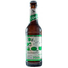 Viva - Pilsen Soy De Aqui Cerveza kanarisches Bier 5,2% Vol. 330ml Glasflasche inkl. Pfand hergestellt auf Gran Canaria