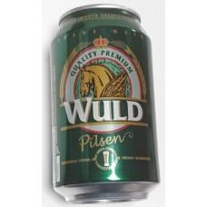 Wuld - Pilsen Cerveza Bier 4,5% Vol. Dose 330ml hergestellt auf Gran Canaria - LAGERWARE