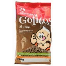 Comeztier - Gofitos al Chocolate Cereals Schoko-Gofio-Frühstücksflocken Tüte 290g hergestellt auf Teneriffa - LAGERWARE