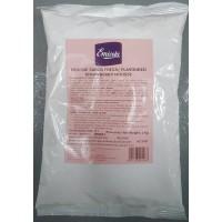 Emicela - Mousse Sabor Fresa Erdbeergeschmack ergiebig für 10l Mousse 1kg Tüte hergestellt auf Gran Canaria