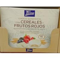 Tirma - Choco Sandwich con cereales y frutos rojos chocolate blanco 240g hergestellt auf Gran Canaria