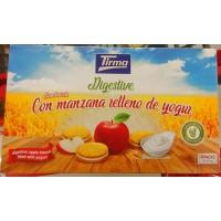 Tirma - Digestive Sandwich con manzana relleno de yogur 4x45g hergestellt auf Gran Canaria