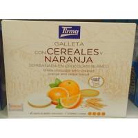 Tirma - Galleta con cereales y naranja en chocolate blanco 177g hergestellt auf Gran Canaria
