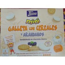 Tirma - Mini Galletas con cereales y arandanos 4x40g hergestellt auf Gran Canaria