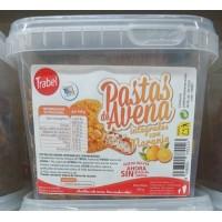 Trabel - Pastas de Avena Integral con Naranja Vollkorn-Hafer-Kekse Orange 300g hergestellt auf Gran Canaria