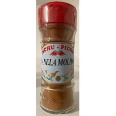 Pichu Pichu - Canella molida Zimt gemahlen 35g Streuerglas hergestellt auf Gran Canaria - LAGERWARE