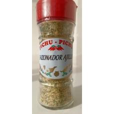 Pichu Pichu - Sazonador Ajillo Knoblauchgewürz gemahlen 45g Streuerglas hergestellt auf Gran Canaria - LAGERWARE