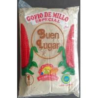 Buen Lugar - Gofio de Millo Especial Tostado Maismehl geröstet 1kg hergestellt auf Gran Canaria