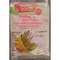 El Palmar - Gofio de Cereales y Legumbres Mehrkorn & Hülsenfrüchte-Mehl geröstet 1kg hergestellt auf Teneriffa